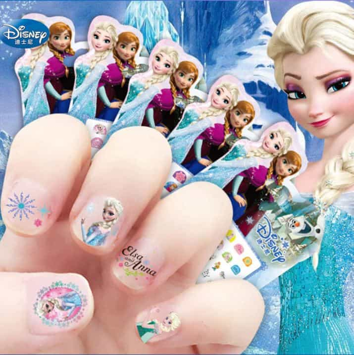 Frozen nagels
