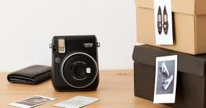 Polaroid camera op AliExpress